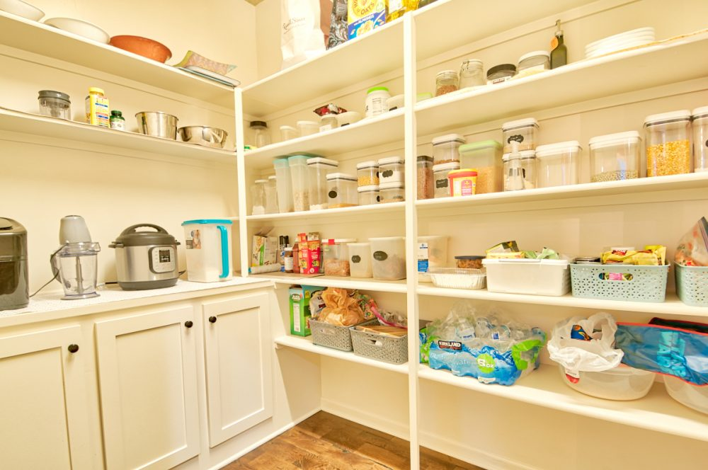 Extra Large Walk-in Pantry